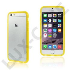 Jungsted (Gul) Silikon iPhone 6 Bumper