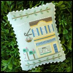 Main Street Post Office #crossstitch #crafts