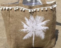 HESSIAN POUCH by DanaCarmontBikinis on Etsy