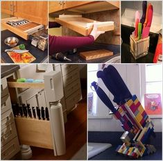 10 Creative Ways to Store Kitchen Knives a