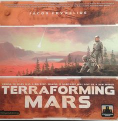 Our review of Terraforming Mars by Stronghold Games.  #boardgame #scifi #strongholdgames #mars