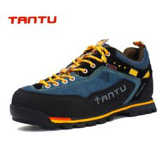 factory price 83e50 ef3fc New Brand hiking shoes breathable outdoor shoes large size 39-46 camping  climbing rubber sole