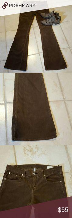 Selling this Rag & Bone Brown Elephant Bell Jeans Corduroy 29 on Poshmark! My username is: sapphirescrush. #shopmycloset #poshmark #fashion #shopping #style #forsale #rag & bone #Denim