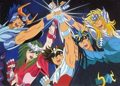 Saint Seiya - Classic Anime only the fortunate have heard of....