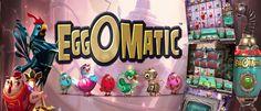 Neuer Beitrag EGGOMATIC hat sich auf CASINO VERGLEICHER veröffentlicht  http://go2l.ink/1HRS  #EGGOMATIC, #NetEnt, #NetentEggomatic, #SlotSpiele, #Slots