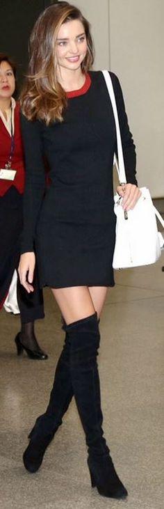 Miranda Kerr's airport style id