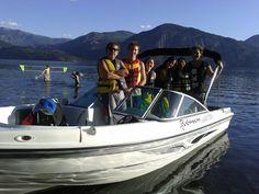 A navegar el lago Lácar!!