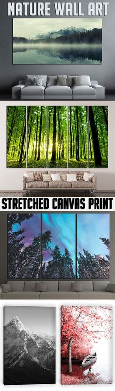 Extra large Nature Wall Art for Home & Office decoration