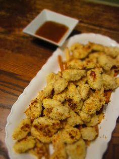 Baked Parmesan Panko Chicken Bites