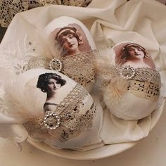 56 Inspirational Craft Ideas For Easter. painted rocks then decoupage and embellish.. im thinking vintage easter pictures