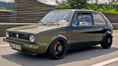 "269 Likes, 1 Comments - Car guys Factory (@_carguysfactory_) on Instagram: ""Definitely one of my favourites cars! The VW Golf MK1 #golf #mk1 #golf1 #vw #stanced #lowered…"""