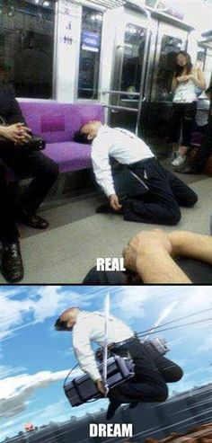 Attack on Titan (lols, that is an awesome dream)