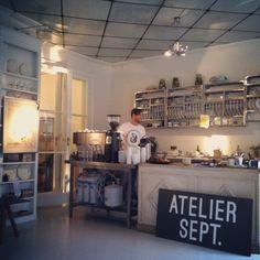 Café in the center of Copenhagen - Gothersgade, Copenhagen Atelier September