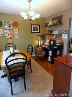 Dining Room/Office Progress- Shelving