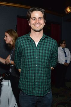 Pin for Later: The Weekend's Must-See Snaps!  Jason Ritter stepped out for The Art of Elysium's Genesis event in LA on Friday.