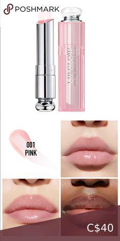 Dior Addict Lip Glow Color Reviver Balm Dior addict lip glow, 001 Pink. The must-have from Dior Backstage to enhance the natural flush colour. New and unused, no box. Dior Makeup Lipstick Dior Lipstick, Velvet Lipstick, Dior Makeup, Lipstick Set, Lipstick Shades, Matte Lipstick, Lipstick Colors, Dior Addict, Lip Stain