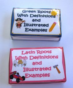 Greek and Latin Roots with Prefix and Suffix Cards $ #commoncore for 4th grade and fifth grade