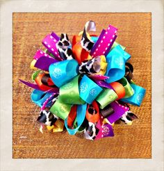 loopy bow | Loopy Puff Bow