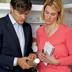 Dr. Oz talks about what snacks are best to keep around the house.
