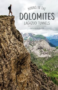 How to hike the Lagazuoi Tunnels in the Dolomites, Italy. Taking the cable car from the Falzarego Pass, hiking in the Dolomites with kids. Monteverde, Montezuma, Cheap Places To Travel, Hiking Europe, Best Of Italy, Road Trip, Italy Travel Tips, Surf, Best Hikes