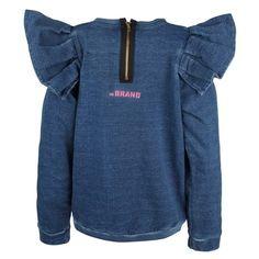 Flounce Sweatshirt / The Brand - Söt by Sweden