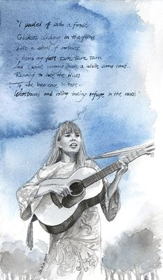 Musical Muses: Joni Mitchell & Country Roads