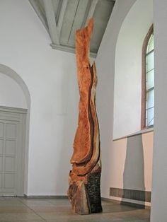 Galerie Scheffel   Ausstellungen   Ausstellungen der letzten Jahre   David Nash   Werke David Nash 2006