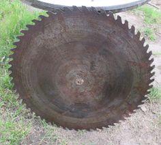 29 Circular Buzz Saw Blade Vintage Saw Mill By