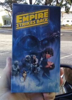 Star Wars Episode V: The Empire Strikes Back VHS Theatrical Version - 1980 Fox