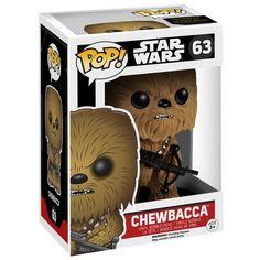 Episode 7 - The Force Awakens - Chewbacca Vinyl Bobble-Head 63 - Funko Pop! etter Star Wars