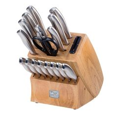 Best Deals 40% OFF Chicago Cutlery Insignia 18-pc. Cutlery Set   KOHLS:   Best Deals 40% OFF Chicago Cutlery Insignia 18-pc. Cutlery Set   KOHLShttp://bit.ly/2gRp8X2#TodayDeals #DailyDeals #DealoftheDay - Cutting-edge cutlery. No kitchen is complete without this Chicago Cutlery knife block set. In-block sharpener keeps knives ready to cut chop slice and dice. High-carbon stainless steel blades resist stains rust and pitting. Taper Grind edges ensure extreme sharpness and superior cutting…