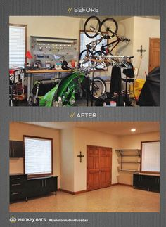 86 Best Amazing Before And Afters Images Garage Storage
