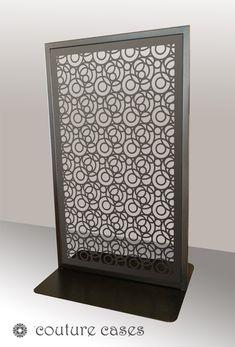 FARO freestanding laser cut metal panels