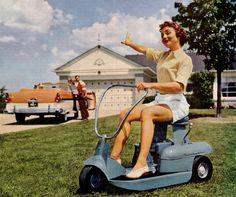 1957 Riding Mower