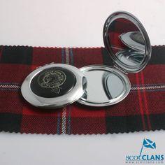 Clan Crest Compact Mirror
