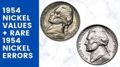 Valuable 1954 nickels can be found in your spare change... See how much your 1954 nickel is worth here!