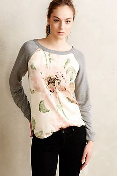 Winterbloom Pullover -Anthropologie