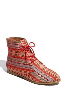 SQUEE! #stripes #bootie #WANT #jeffreycampbell
