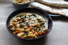Easy to prepare, this is a lovely vegetarian curry for Meatless Monday!