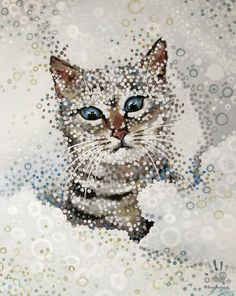 Kote in Snow by IlonaPankevich on DeviantArt