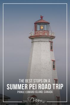 In this post, we share some popular things to do in Prince Edward Island with this summer PEI road trip itinerary from Charlottetown, through the beaches of West Point and on through North Cape. East Coast Travel, East Coast Road Trip, Pei Canada, Parks Canada, Lighthouse Inn, East Coast Canada, Road To Avonlea, Canada Summer, Travel Tours