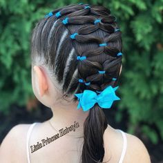 little-girl-hairstyles - Fab New Hairstyle 2 Lil Girl Hairstyles, Kids Braided Hairstyles, Princess Hairstyles, Teenage Hairstyles, Wedding Hairstyles, Braided Updo, Hairdos, Children Hairstyles, Toddler Hairstyles