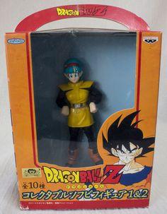 Dragon Ball Z Bulma Collectable Soft Vinyl Figure Banpresto JAPAN ANIME