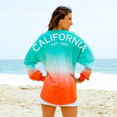 California EST. 1850 State Pride Sunrise Ombre Spirit Football Jersey®