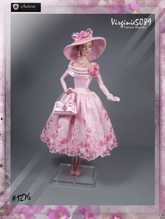 Tenue Outfit Accessoires Pour Fashion Royalty Barbie Silkstone Vintage 1276 | eBay