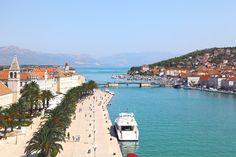 """Trogir, Croatia One of the most exciting cities on the Croatian side of Adriatic coast and one of the best preserved medieval towns in Europe, Trogir attracts with its extraordinary culture and joyful atmosphere. Settled by the Greeks in fourth- third century BC the city became later Roman """"oppidum"""". http://www.vacationhomes.net/blog/2012/01/16/top-10-island-cities/"""