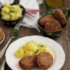 Parjoale moldovenesti Romanian Food, Beef, Breakfast, Recipes, Pork, Salads, Meat, Morning Coffee, Recipies