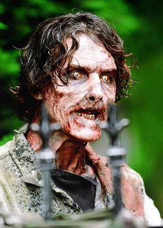 Walker Walking Dead Makeup, Walking Dead Season 4, Walking Dead Tv Show, Amc Walking Dead, Walking Dead Zombies, Fear The Walking Dead, Zombie Art, Zombie Makeup, Sfx Makeup