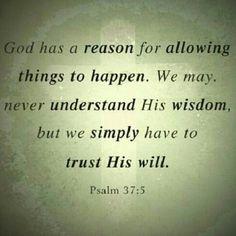 Palms 37:5
