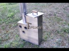 Inside stainless steel wood fired heater - TimberIN